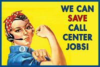 Call Center Postcard