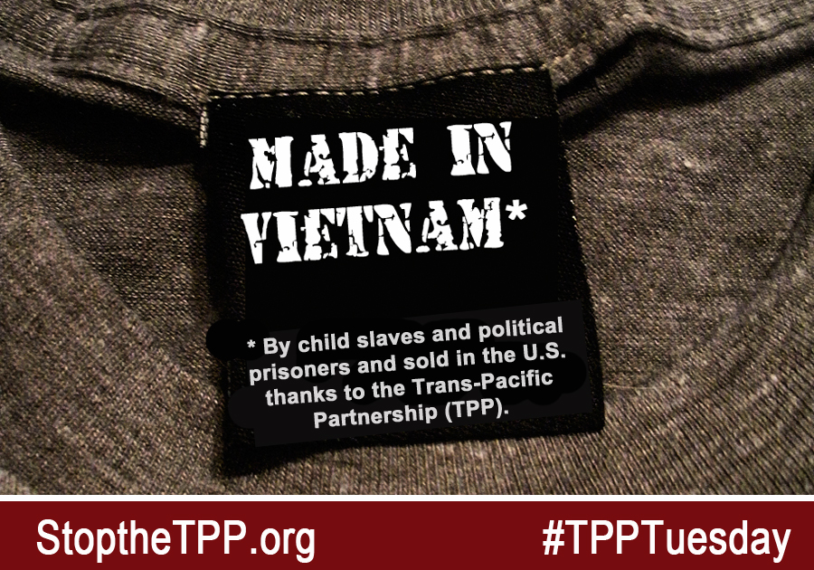 The TPP and slave labor in Vietnam