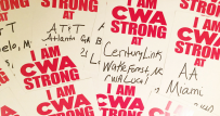 We are CWA STRONG Fall 2017