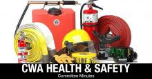 CWA Health & Safety Committee Minutes